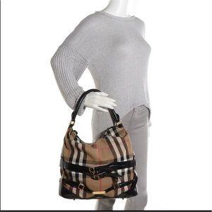 e5318de9cbaa Burberry Bags - Burberry Bridle House Check Hobo Bag